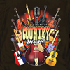 Country Guitars T-Shirt