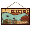 electric guitar sign